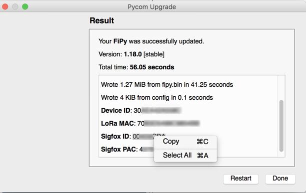New Firmware Updater version 1 15 1 | Pycom user forum