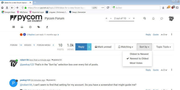 abce1b59dc4 Ideas for a new forum layout